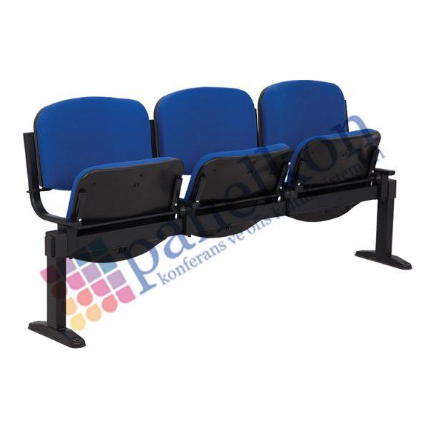 Form Üçlü Sıralı Oturağı Hareketli Sandalye