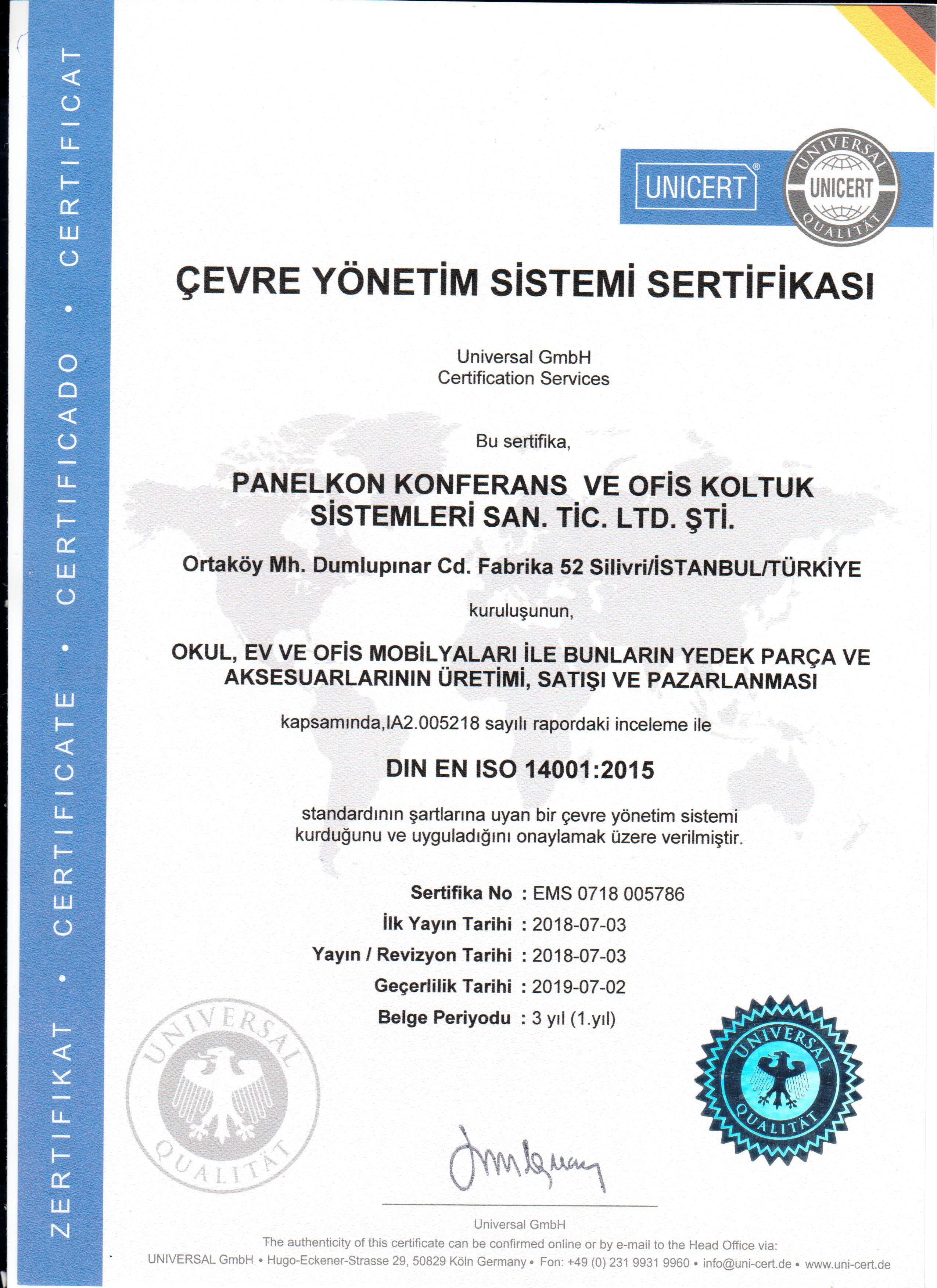 İSO 14001