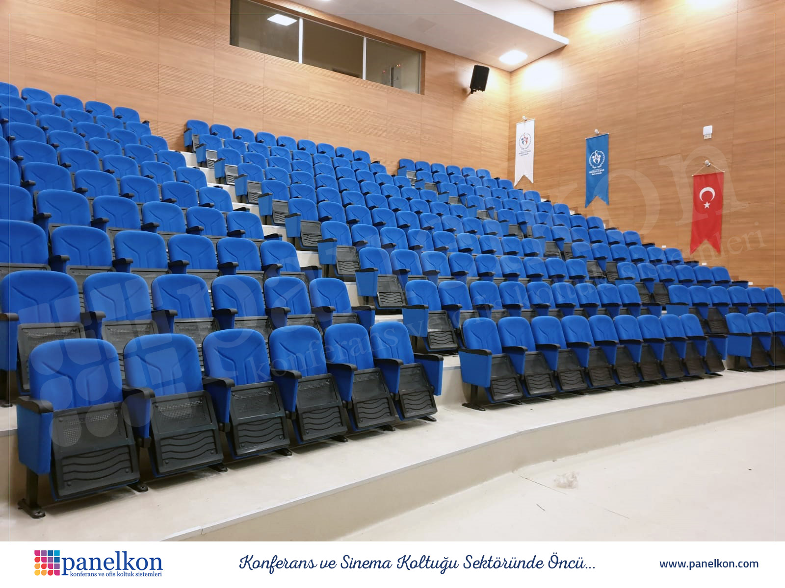 Zonguldak Konferans Salonu Koltuklari