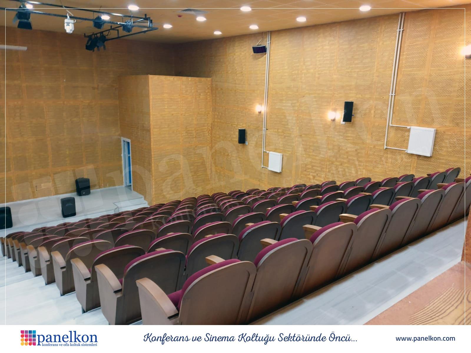 Bitlis Eren Üniversitesi Konferans Salonu Koltukları (2)